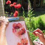 Ornamental Poppies - Sold